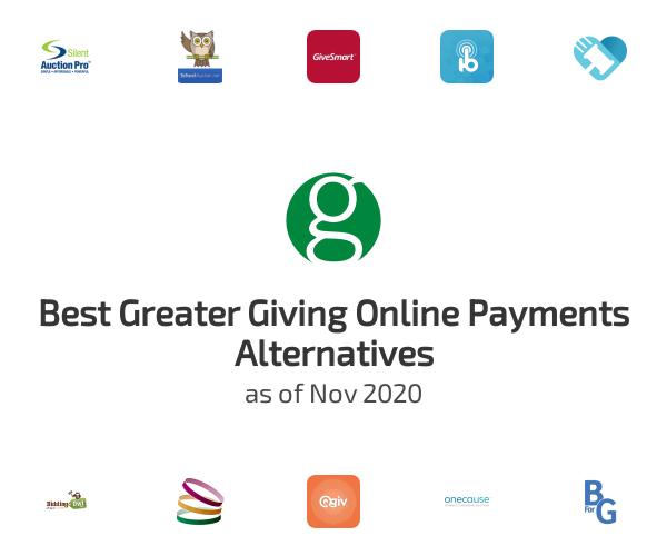 Best Greater Giving Online Payments Alternatives