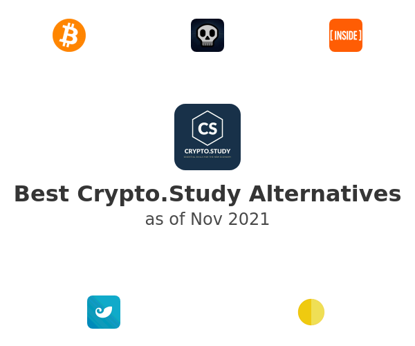 Best Crypto.Study Alternatives