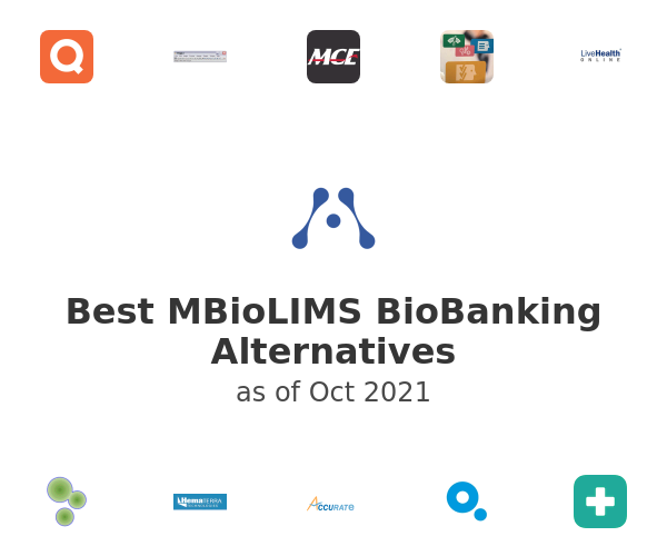 Best MBioLIMS BioBanking Alternatives
