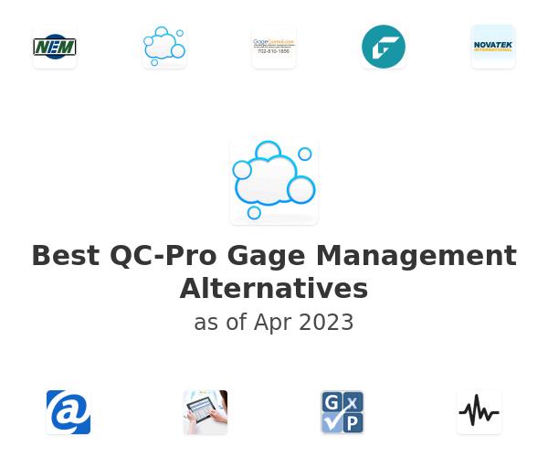 Best QC-Pro Gage Management Alternatives