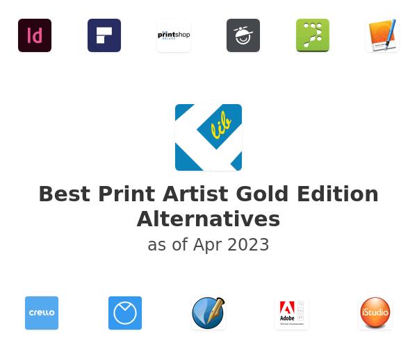 Best Print Artist Gold Edition Alternatives