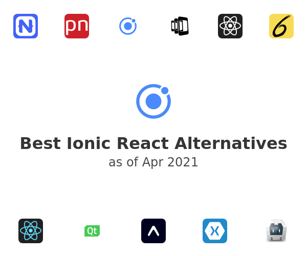 Best Ionic React Alternatives