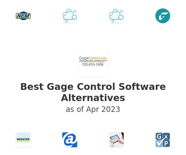 Best Gage Control Software Alternatives