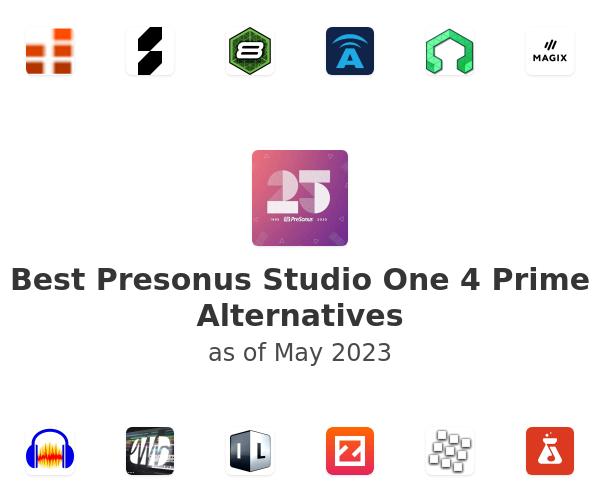 Best Presonus Studio One 4 Prime Alternatives