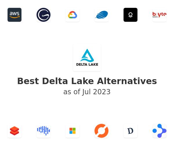 Best Delta Lake Alternatives