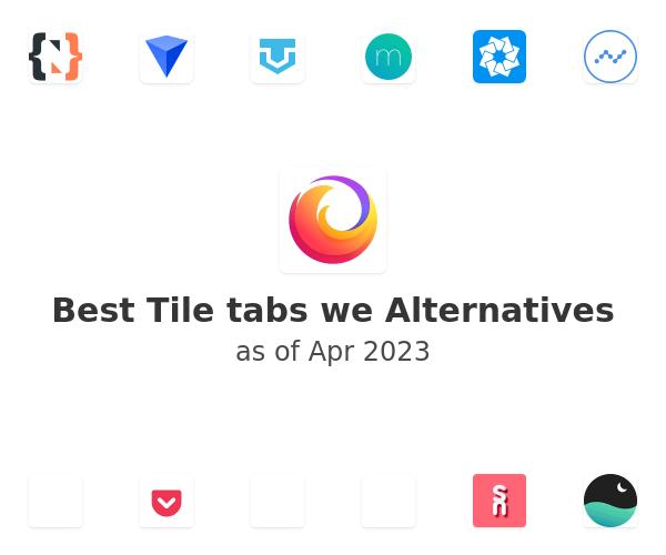 Best Tile tabs we Alternatives