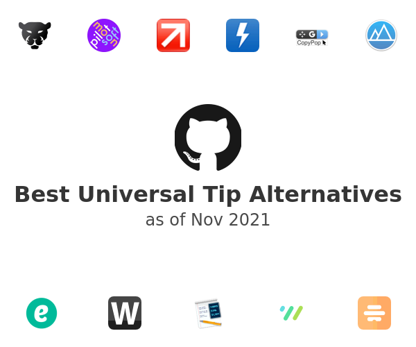 Best Universal Tip Alternatives