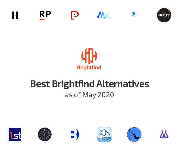 Best Brightfind Alternatives