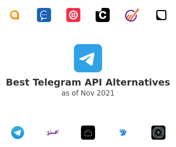 Best Telegram API Alternatives