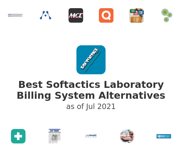 Best Softactics Laboratory Billing System Alternatives