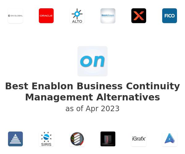 Best Enablon Business Continuity Management Alternatives