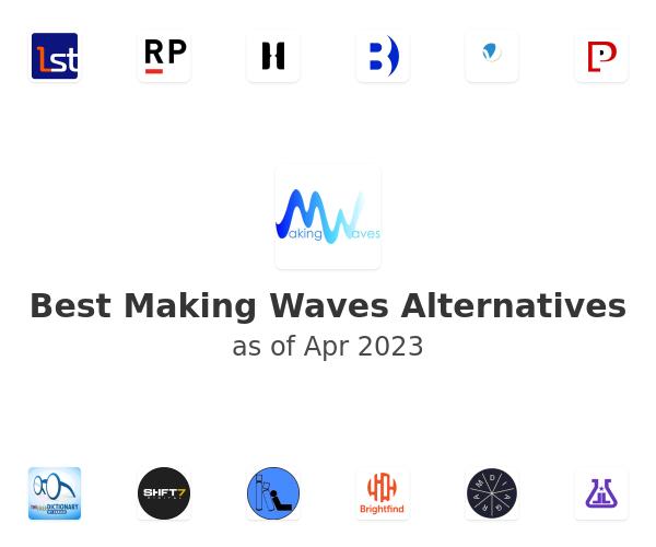 Best Making Waves Alternatives