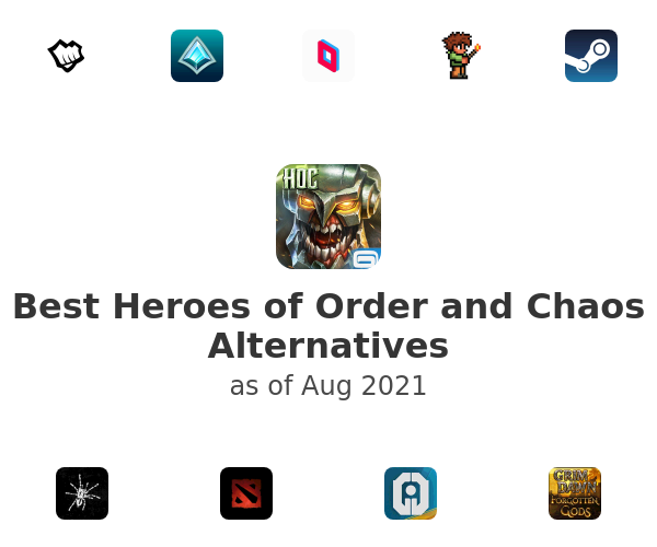 Best Heroes of Order and Chaos Alternatives