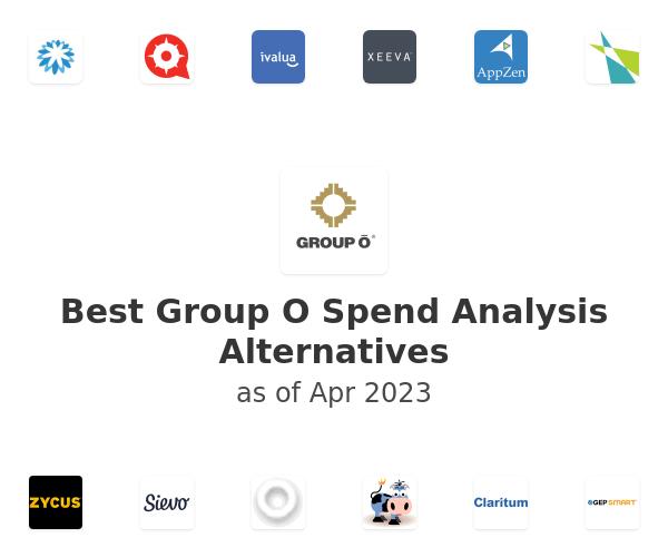 Best Group O Spend Analysis Alternatives