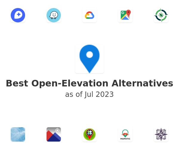 Best Open-Elevation Alternatives