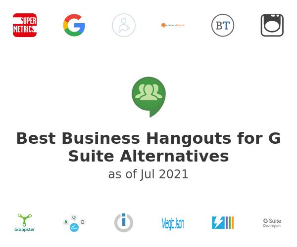 Best Business Hangouts for G Suite Alternatives