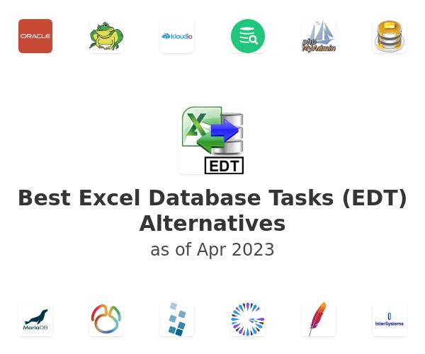 Best Excel Database Tasks (EDT) Alternatives