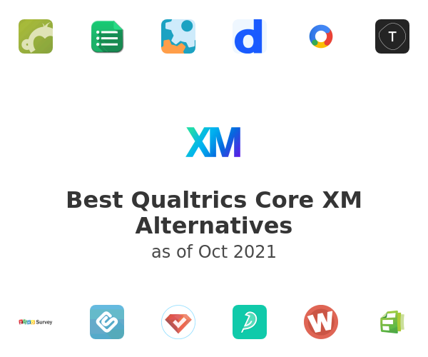 Best Qualtrics Core XM Alternatives
