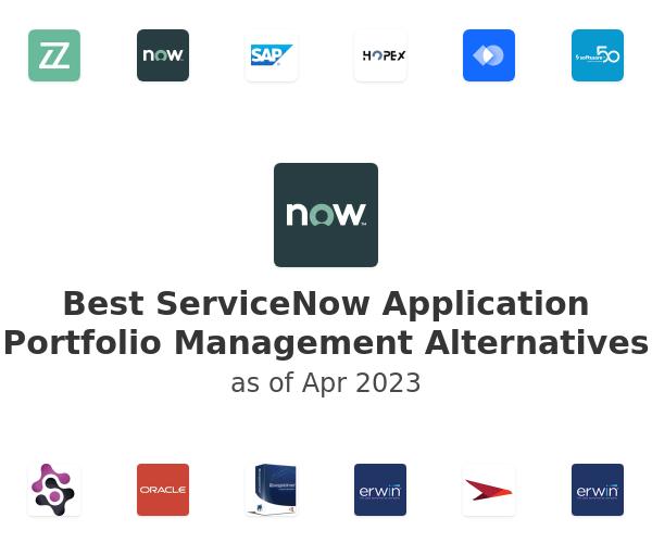 Best ServiceNow Application Portfolio Management Alternatives