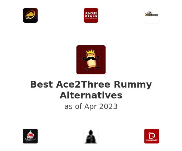 Best Ace2Three Rummy Alternatives