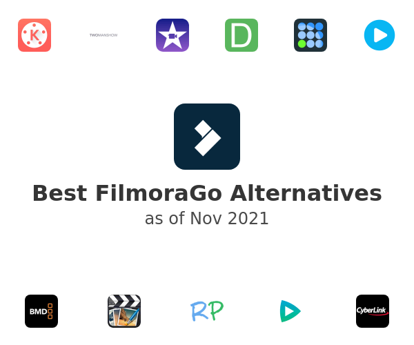 Best FilmoraGo Alternatives