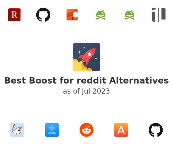 Best Boost for reddit Alternatives