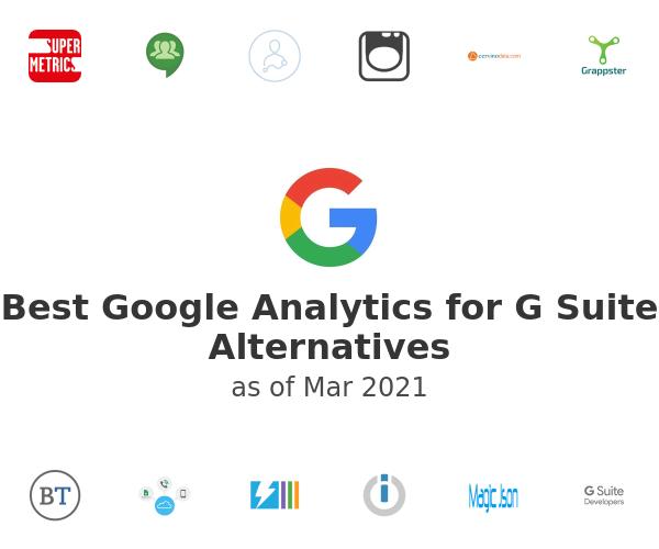 Best Google Analytics for G Suite Alternatives