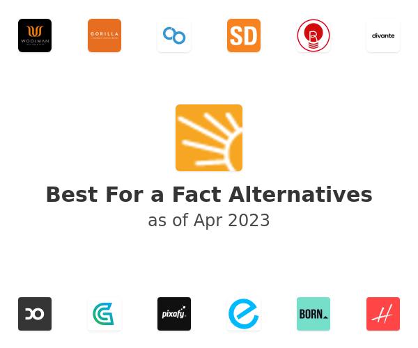 Best For a Fact Alternatives