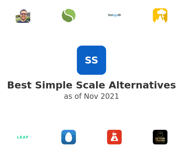 Best Simple Scale Alternatives