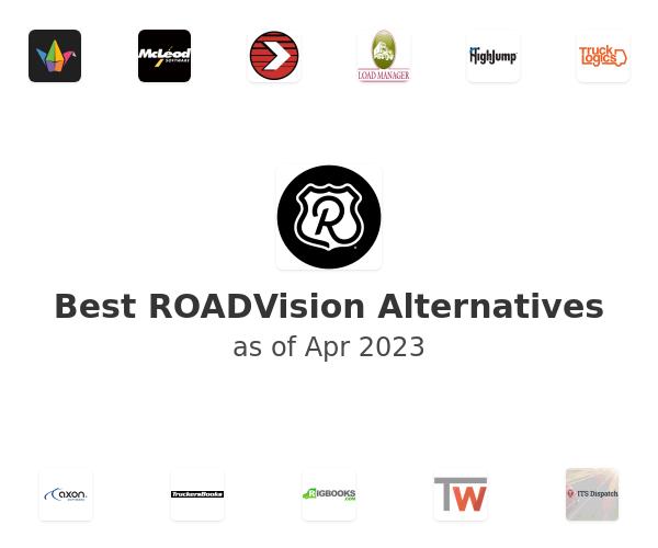 Best ROADVision Alternatives