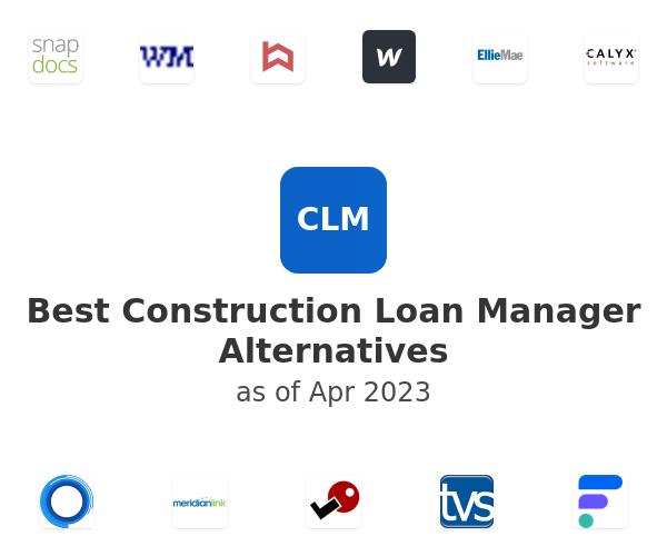 Best Construction Loan Manager Alternatives
