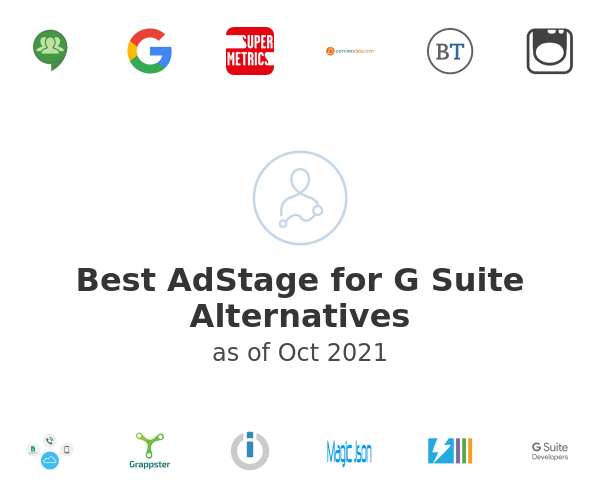 Best AdStage for G Suite Alternatives