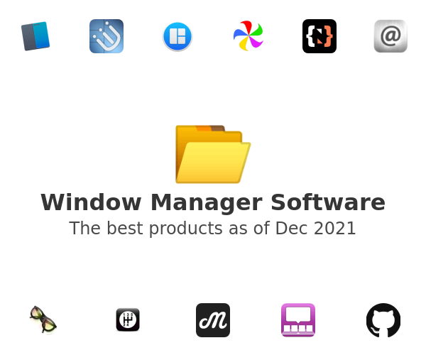 Window Manager Software