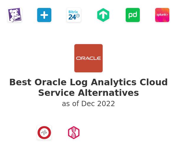 Best Oracle Log Analytics Cloud Service Alternatives