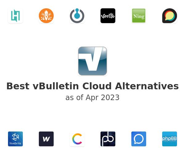 Best vBulletin Cloud Alternatives