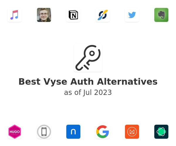 Best Vyse Auth Alternatives