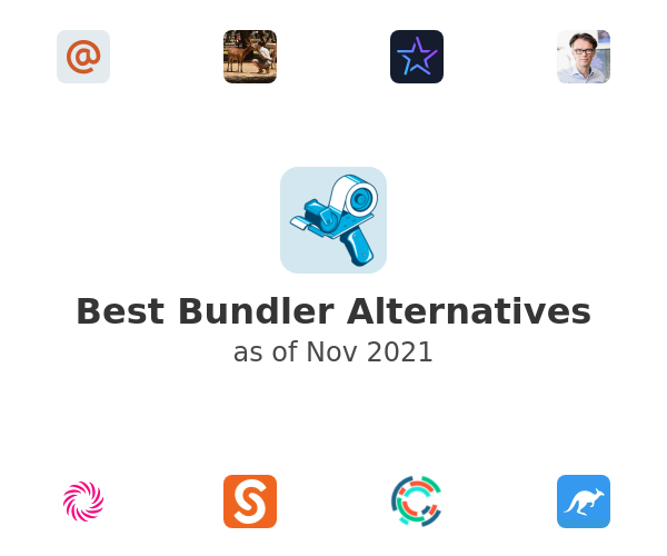 Best Bundler Alternatives