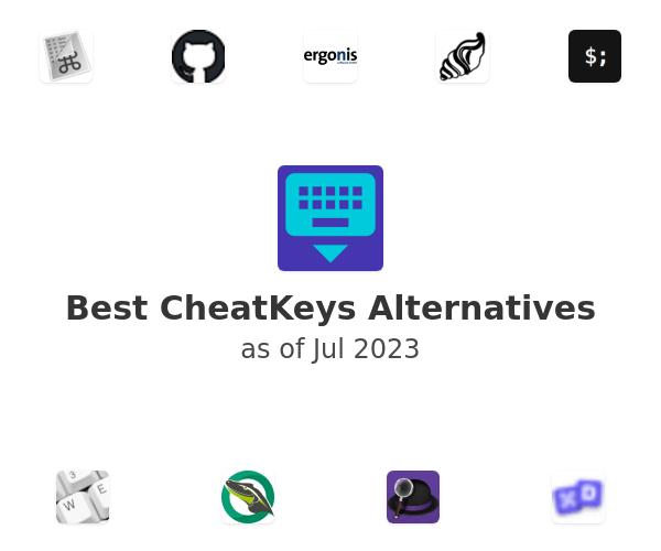 Best CheatKeys Alternatives