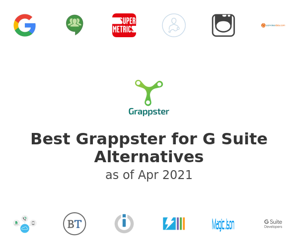 Best Grappster for G Suite Alternatives