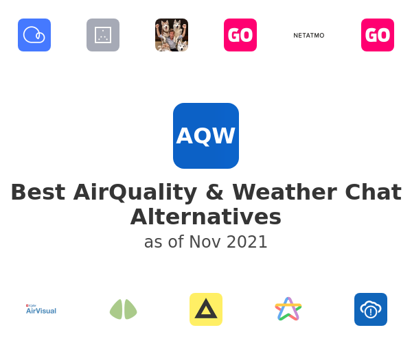 Best AirQuality & Weather Chat Alternatives