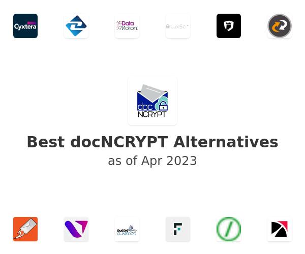 Best docNCRYPT Alternatives