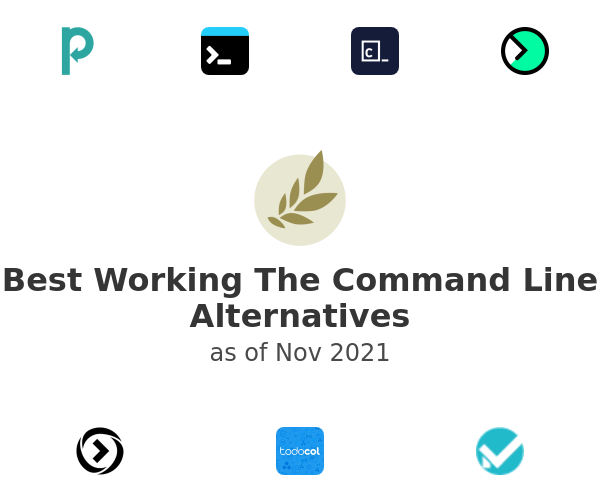 Best Working The Command Line Alternatives