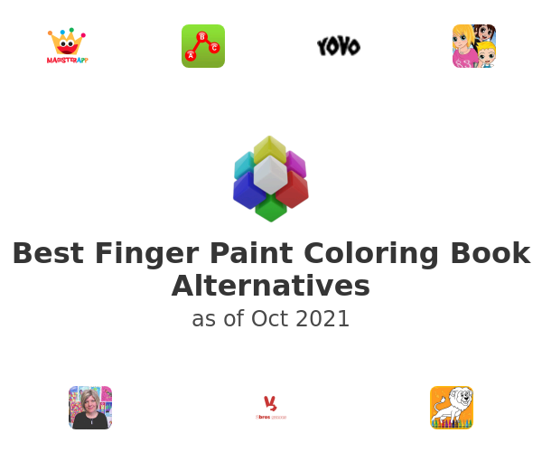Best Finger Paint Coloring Book Alternatives
