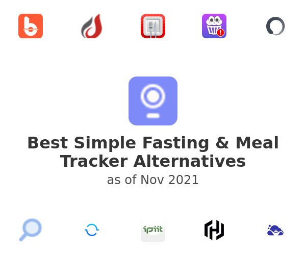 Best Simple Fasting & Meal Tracker Alternatives