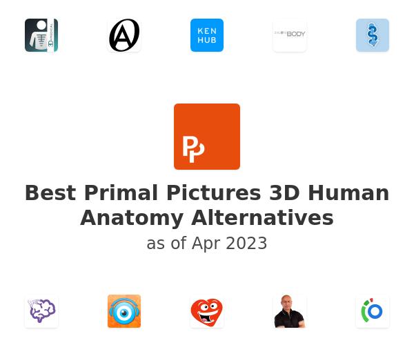 Best Primal Pictures 3D Human Anatomy Alternatives