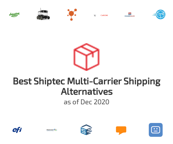 Best Shiptec Multi-Carrier Shipping Alternatives