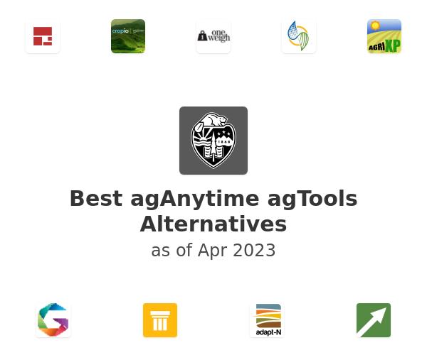Best agAnytime agTools Alternatives