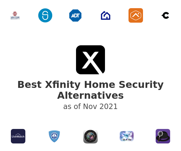 Best Xfinity Home Security Alternatives