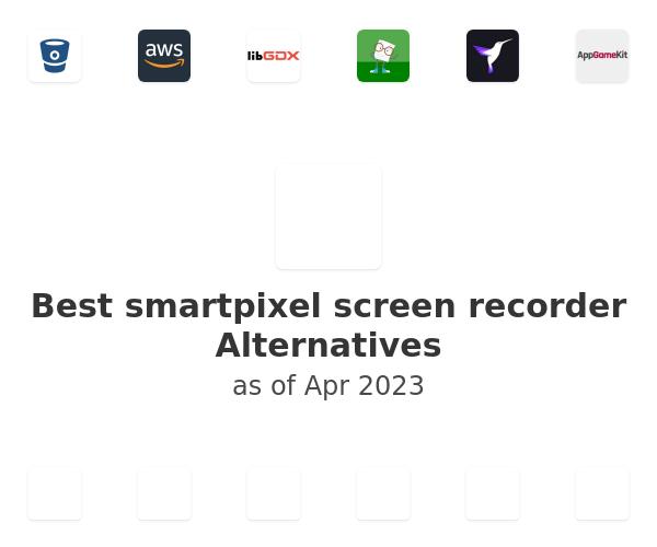 Best smartpixel screen recorder Alternatives