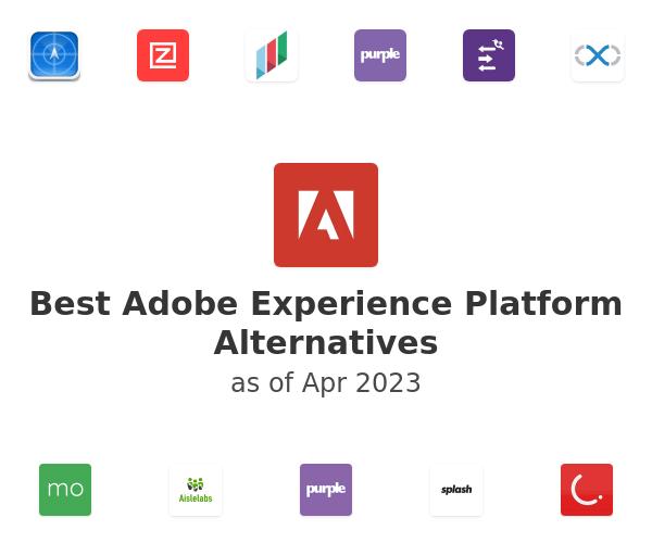 Best Adobe Experience Platform Alternatives